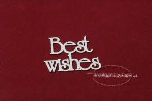 Best Wishes zestaw słów