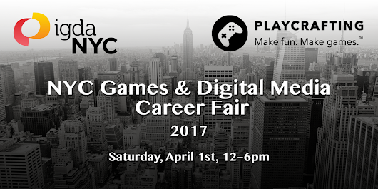 NYC Games & Digital Media Career Fair 2017