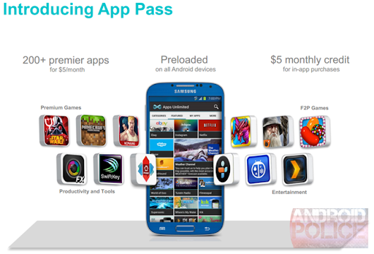 Sprint App Pass Is An All-You-Can-Download Subscription App Store, Launching August 29th And Priced At $5 Per Month