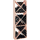 Wine Cellar Innovations cpsdc Pine Solid Diamond Cube Wine Rack -