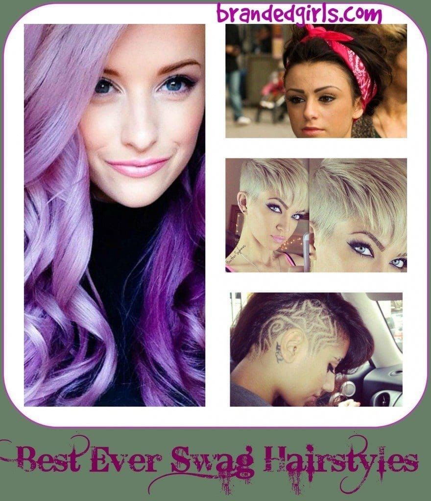 18 Swag Hairstyles for Girls for a Perfect Swag Look