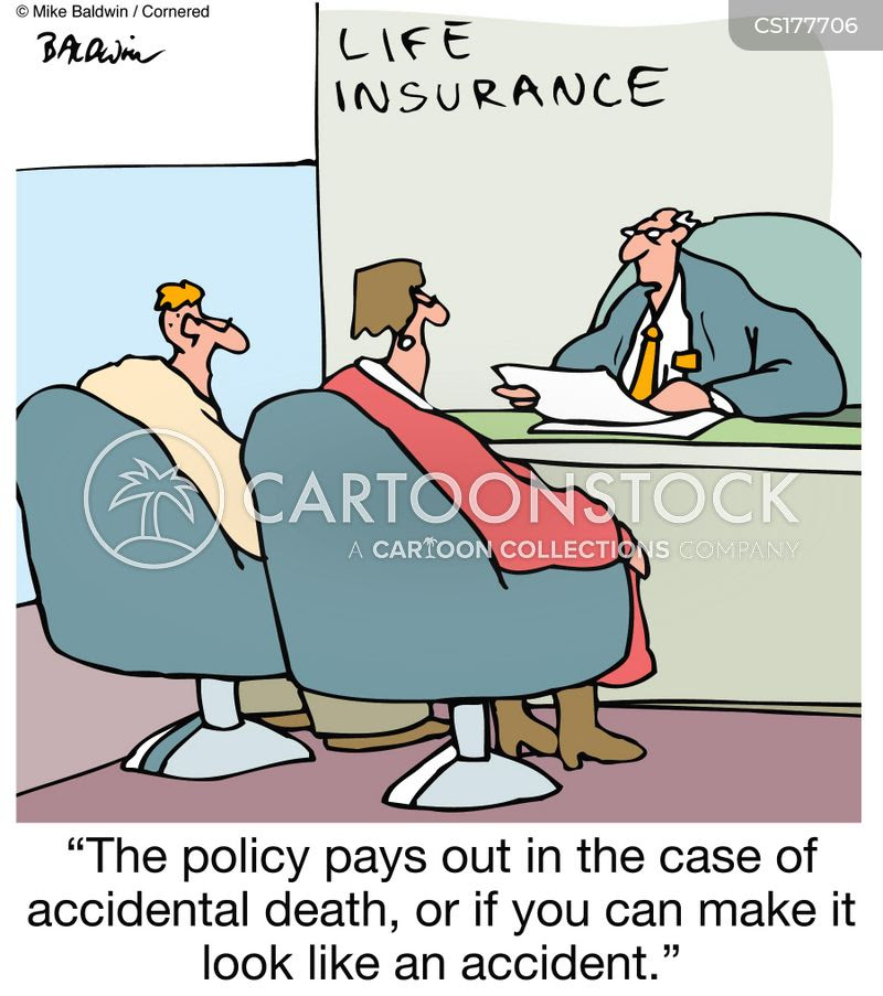 Life Insurance Policy Cartoons and Comics - funny pictures ...