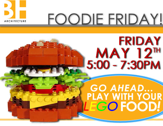 THIS FRIDAY - LEGO Foodie Friday!