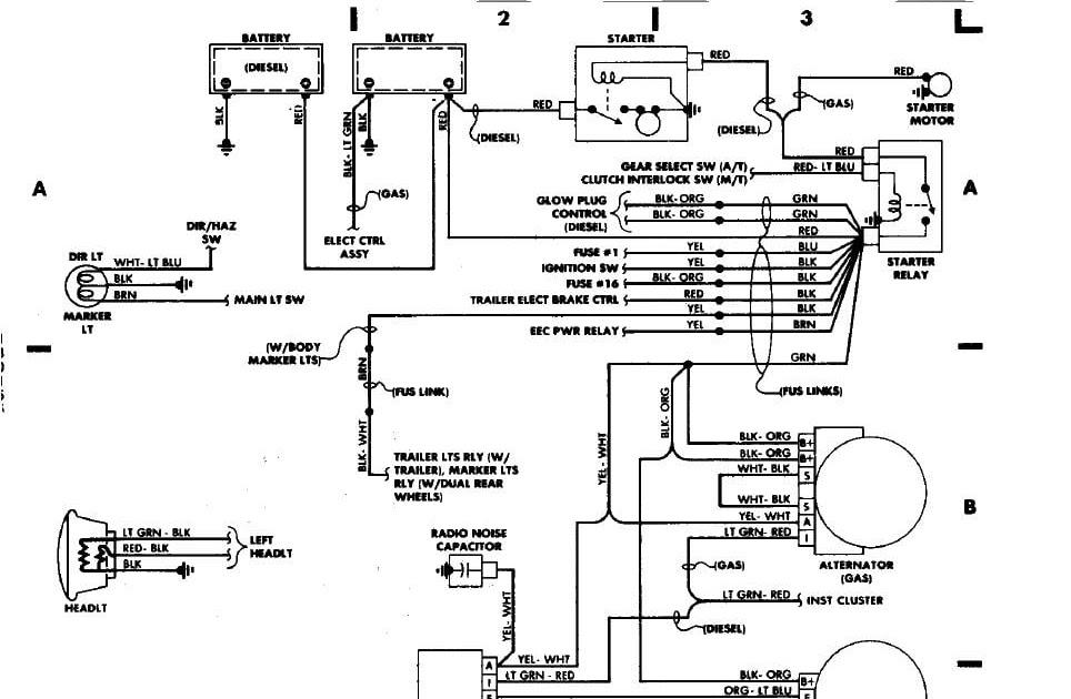 88 Ford Alternator Wiring Diagram - Wiring Diagram Networks