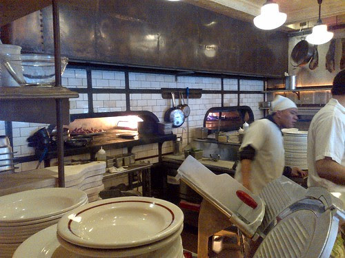Dual fuel pizza ovens in Pulino's