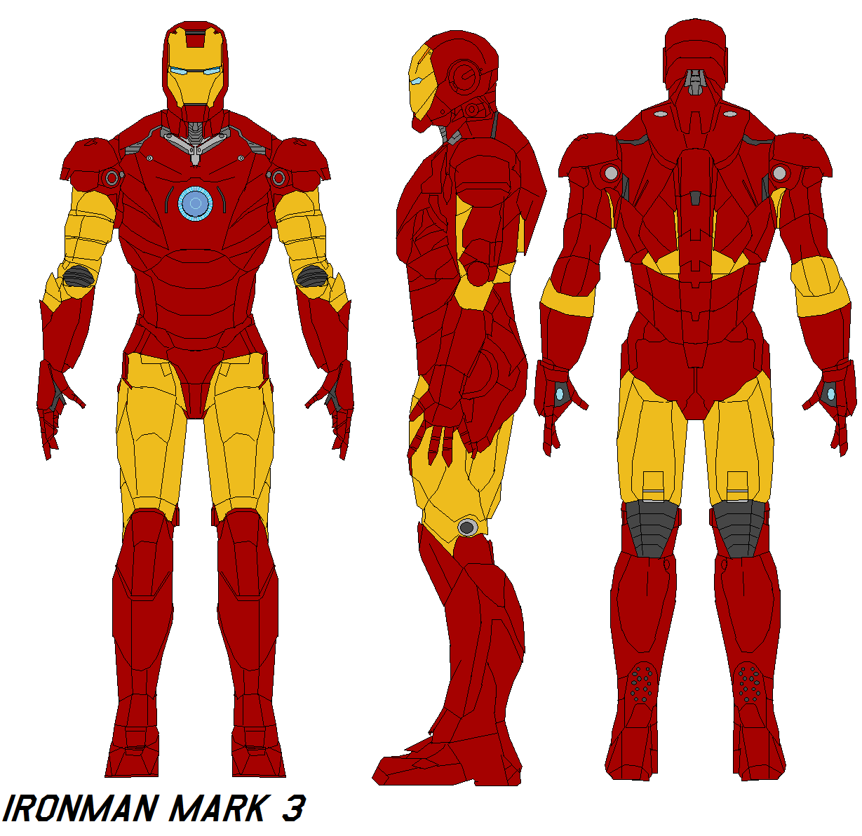 ironman mark 3 armor by bagera3005 on DeviantArt