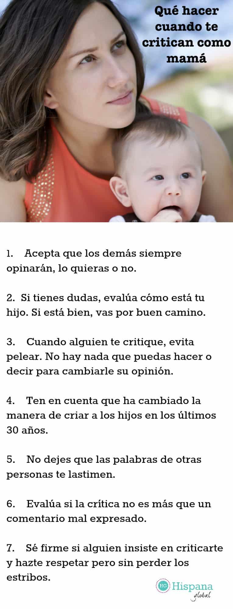 7 Cosas Que Puedes Hacer Cuando Te Critican Como Mamá Hispana Global