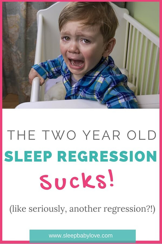 The 2 Year Old Sleep Regression Sucks! - Sleep Baby Love