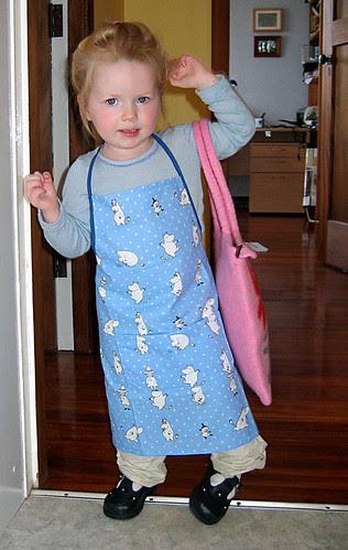 Moomin apron