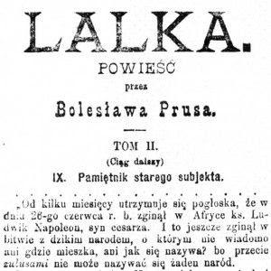 Biografia Wokulskiego Lalka