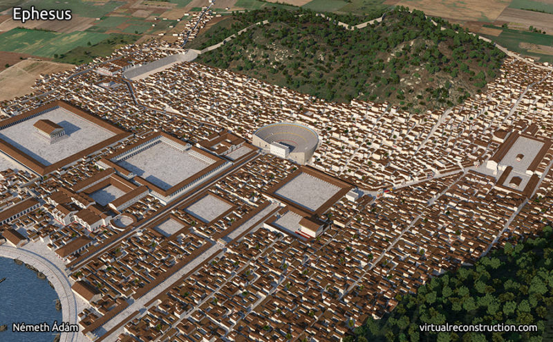 3D artist Adam Nemeth and  ancient city turkey ile ilgili görsel sonucu