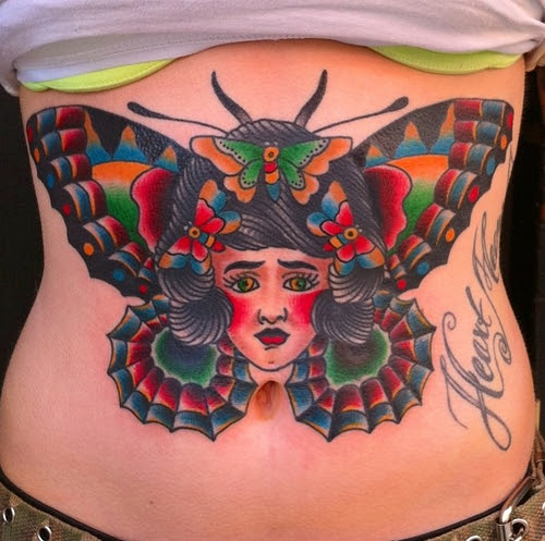 25+ Best Butterfly Tattoos Designs for Girls - Dzinemag