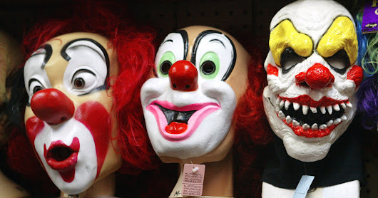 Creepy Clown Hoaxes Lead to 12 Arrests in Multiple States - The New York Times