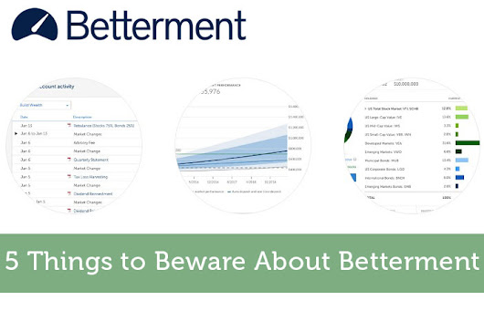 5 Things to Beware About Betterment - Modest Money
