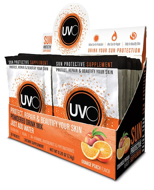 UVO Natural Sun Protection from the Inside Out