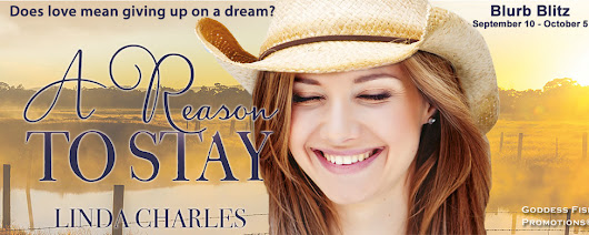 #Giveaway + Excerpt ~ A Reason To Stay by Linda Charles... #romance #books
