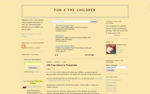 Fun 4 The Children