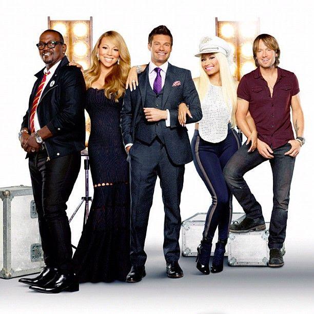 American Idol 12, Mariah Carey, Keith Urban, Nicki Minaj