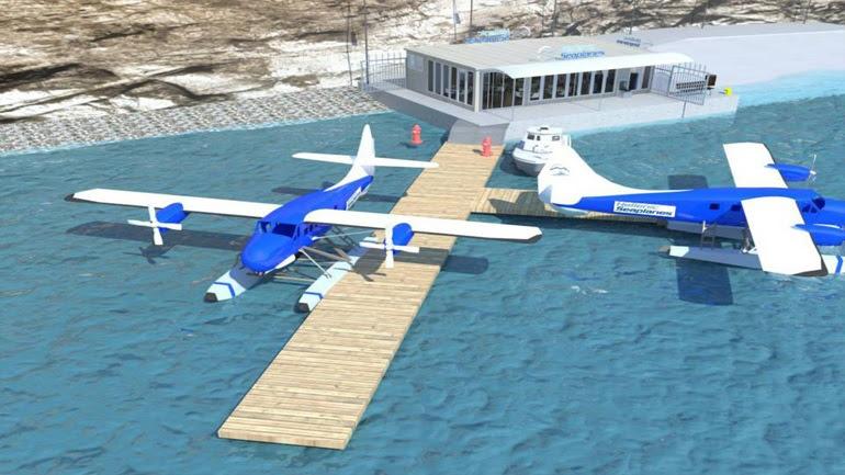 Το πρώτο υδατοδρόμιο στο Αιγαίο, είναι σχεδόν έτοιμο!