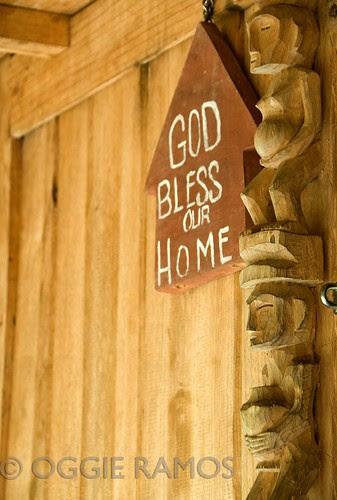 Banaue Ethnic Village God Signage and Idols
