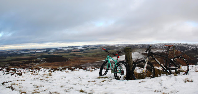 Lammermuirs Snow ride.
