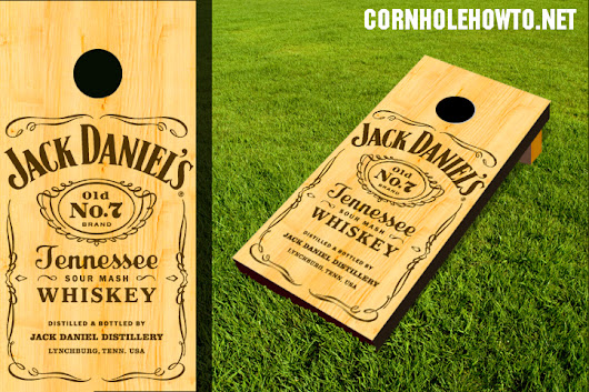 Alcohol Cornhole Boards Gallery - How to make cornhole boards