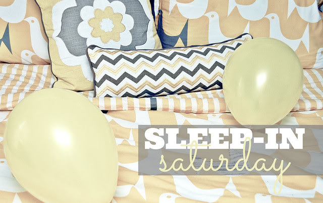 sleep-in saturday