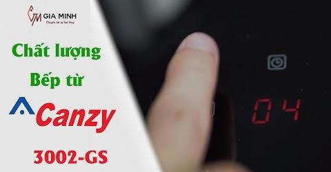 Đánh giá bếp điện từ đôi Canzy CZ 3002-GS chất lượng giá chưa đến 8 triệu đồng