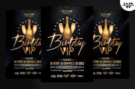 29   Attractive Birthday Party Flyer PSD Designs   Word