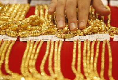 Emas di Aceh lazim dijual dalam mayam