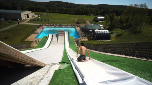 There Is Probably Nothing More Fun Than This Giant Slip 'N Slide