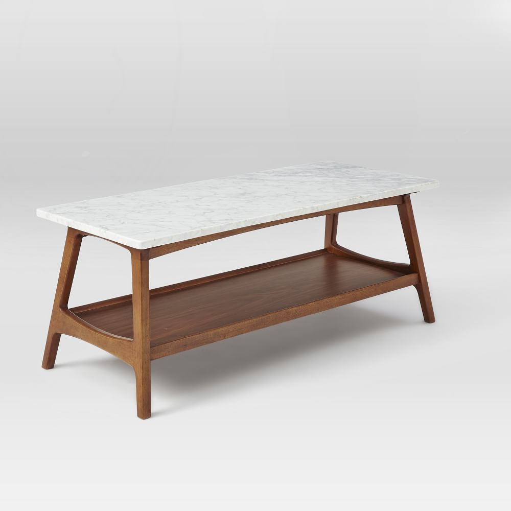 Reeve Mid-Century Rectangular Coffee Table