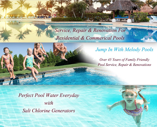 Gates Melody Pool Services Inc. in Fort Lauderdale Florida, Swimming Pool Installations, Equipment, Repairs and Services