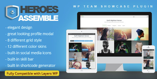 Download Heroes Assemble - Team Showcase WordPress Plugin nulled | OXO-NULLED