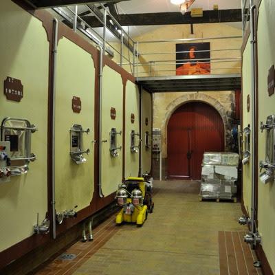 De Pressac - the cellar
