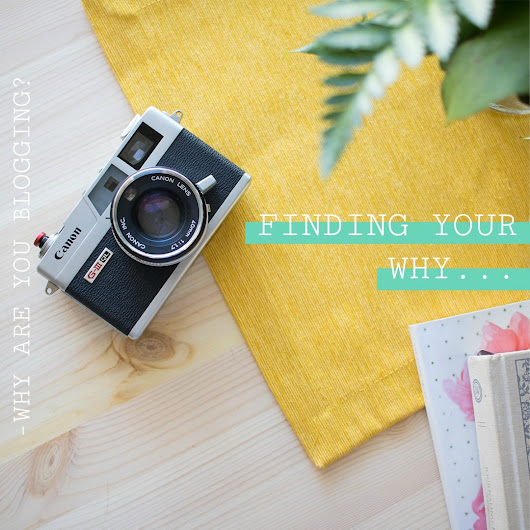 FINDING YOUR WHY | Erica's Walk | Step one to starting a blog