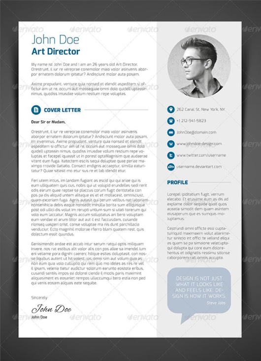 amjadayub : I will design professional resume for you for $5 on www.fiverr.com