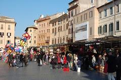 Piazza Navona at Christmastime
