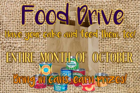 Food Drive: Have Your Cake and Feed Them, Too!