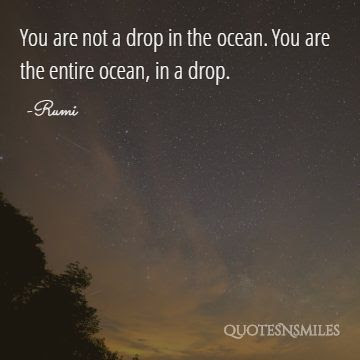 Rumi Picture Quotes For Self Realisation Famous Quotes Love Quotes