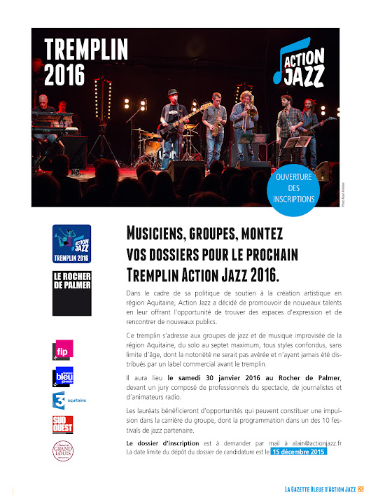 Tremplin Action Jazz 2016