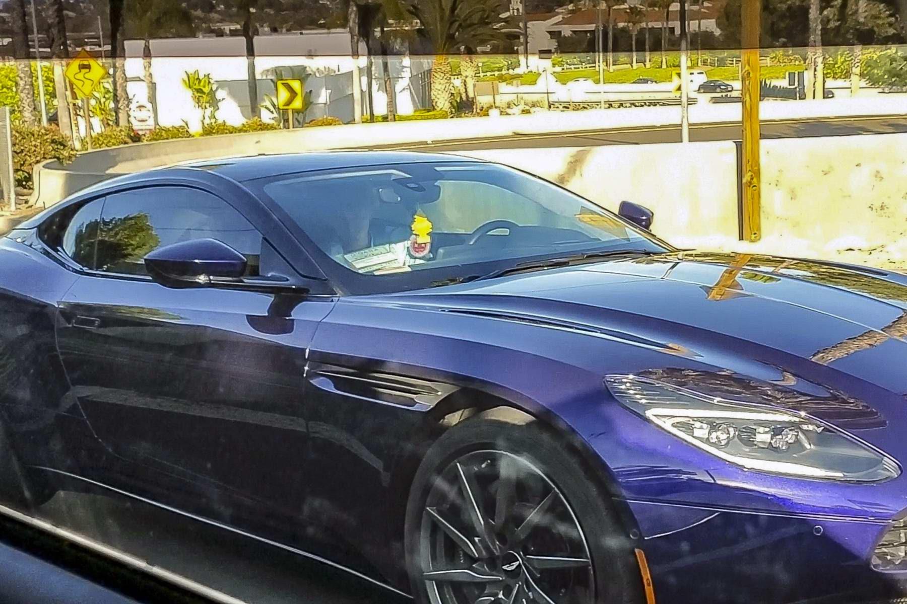 Megan Fox And Machine Gun Kelly Enjoy Drive In An Aston Martin After A Coffee Date In Calabasas California 160520 5