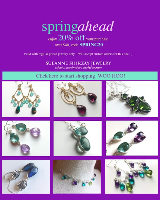 ⏰ 20% off 3 Day SpringAhead Event, new styles added.