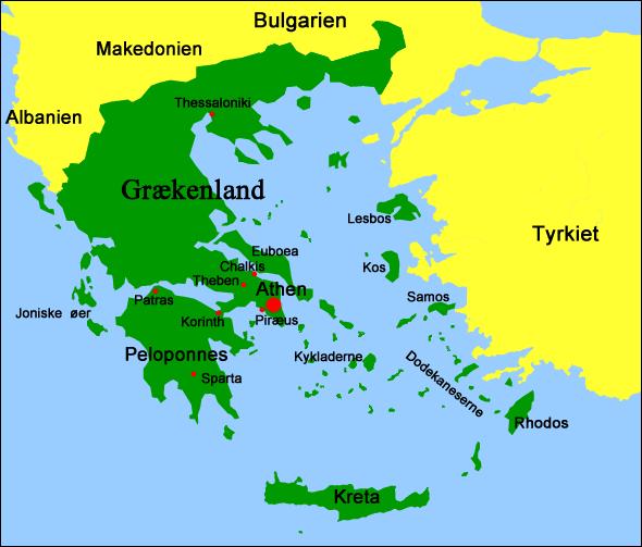kort grækenland Oldtidens GræKenland Kort | Kort 2019