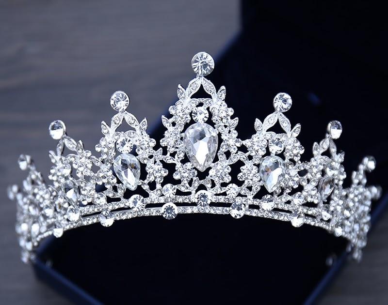 Kleidung & Accessoires Fein Neu Braut Strass Krone Haarschmuck Tiara Diademe Hochzeit Kopfschmuck Weich Und Leicht