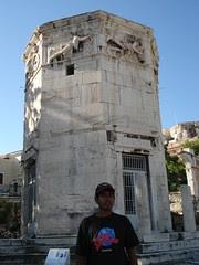 'Tower of the Winds' di Roman Agora, Athens, Greece