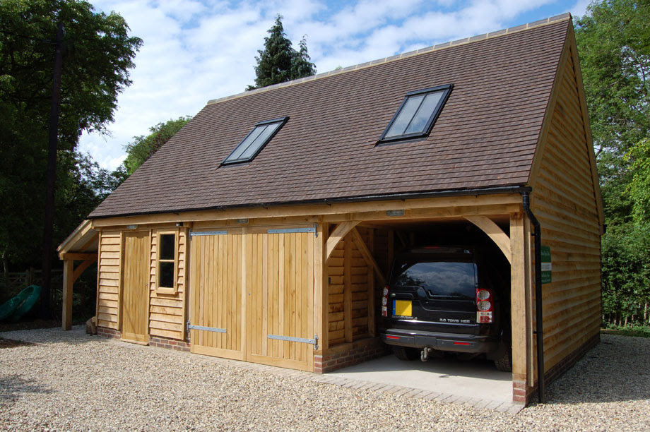 A timber garage could improve your home, garden and your ...
