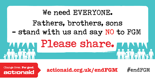 Why men and boys are vital to ending FGM
