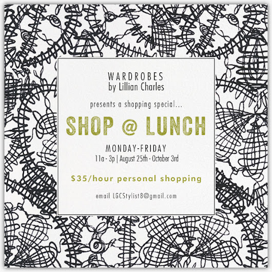 SHOP @ LUNCH