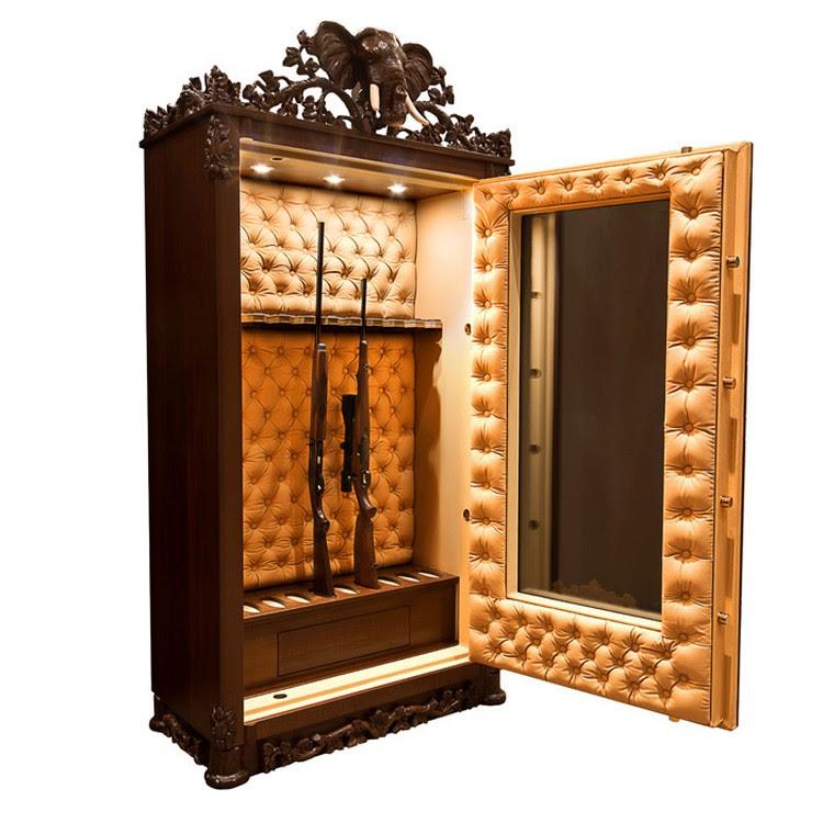 Luxury Safes - The Best Gun Cabinet Design
